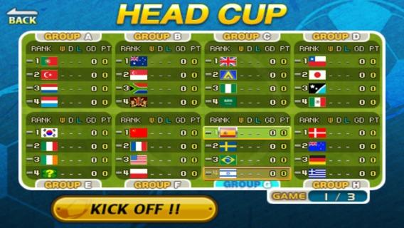 Head Soccer Head Cup