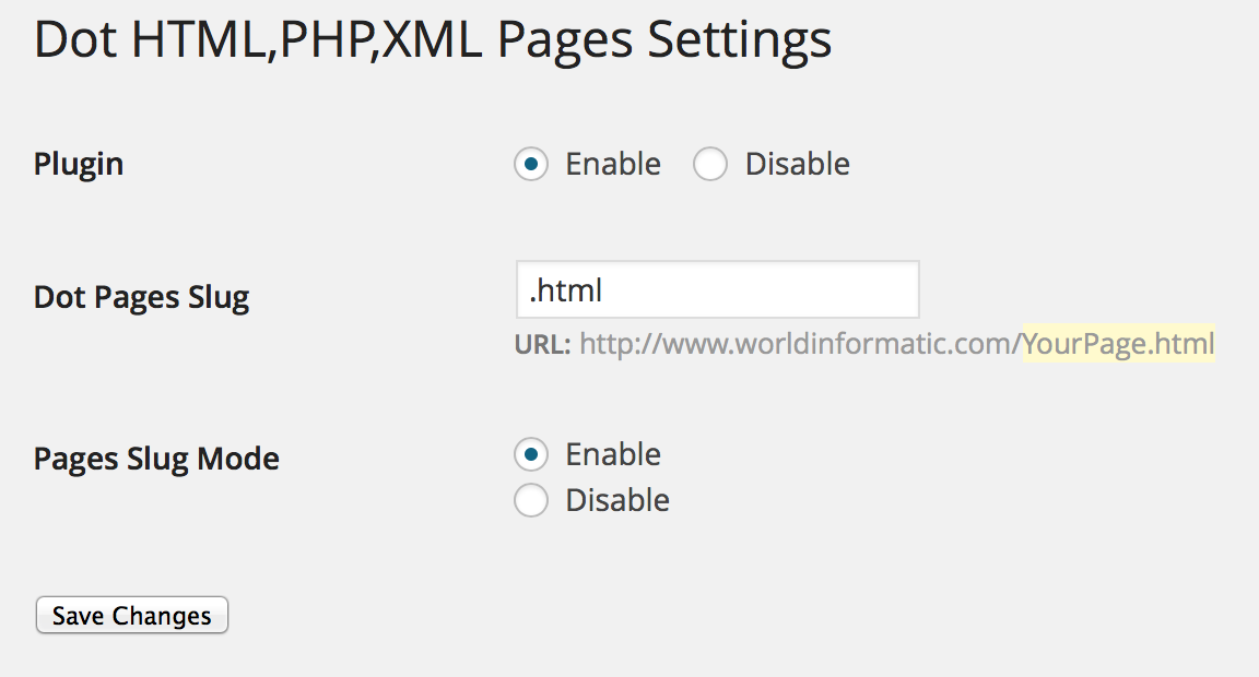 Dot_html_php_pages