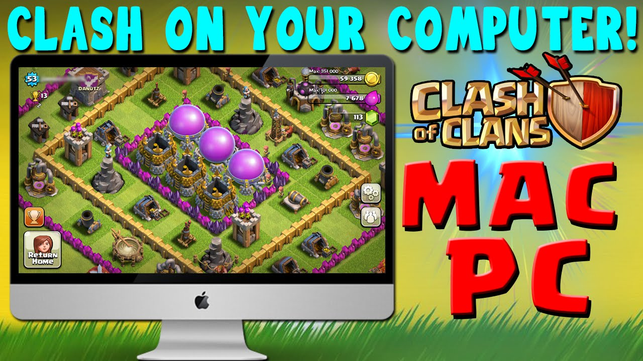 Giocare a Clash of Clans su computer PC o Mac