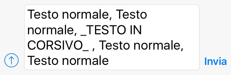 Italic_WhatsApp