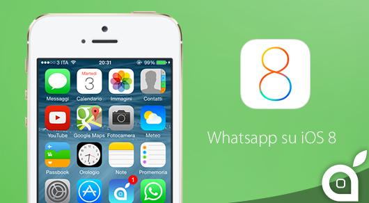 Mandare messaggi e foto su whatsapp senza accedere/aprire l'app